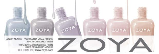 Zoya Feel Collection Winter 2011