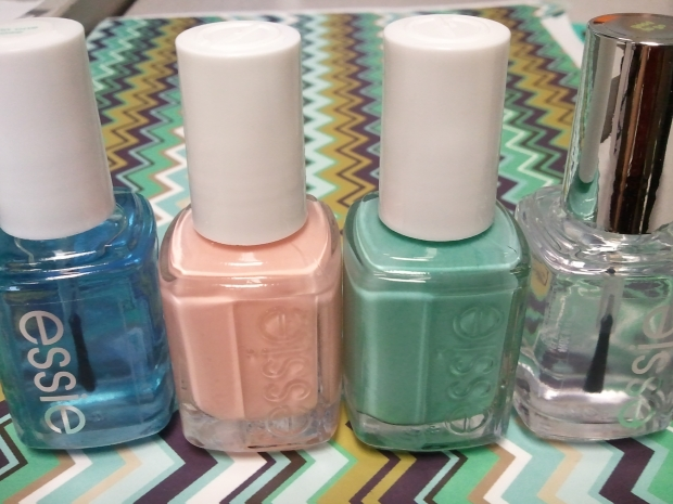 zooey daschanel spring nails copy cat bottle shot