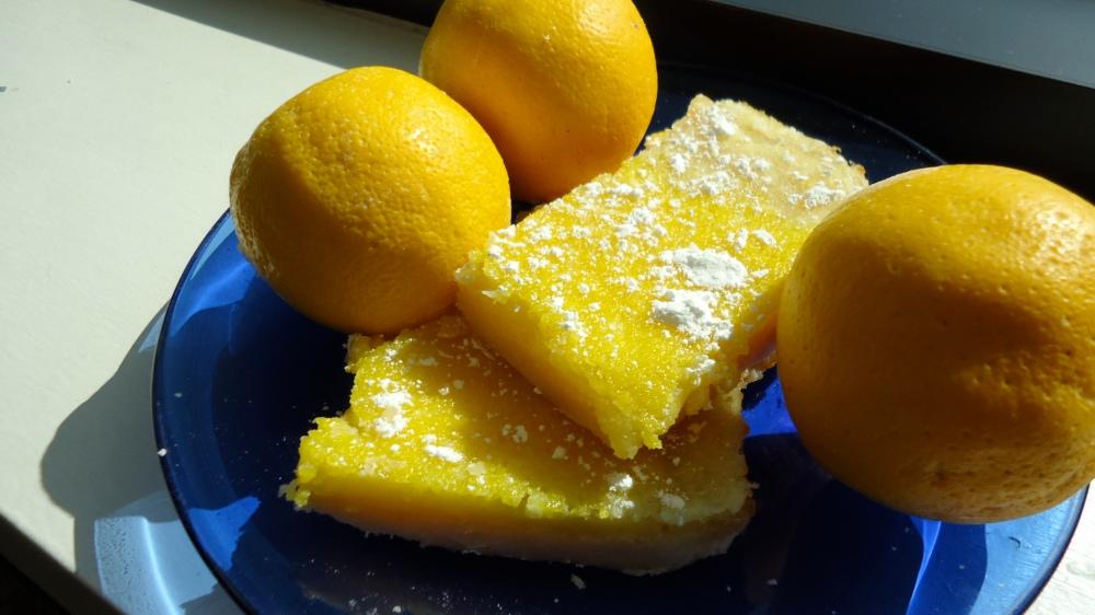 Aunt Donna's Lemon Squares