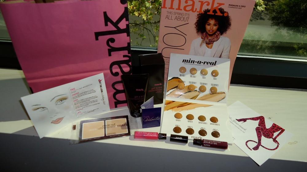 mark. Beauty Bag Example