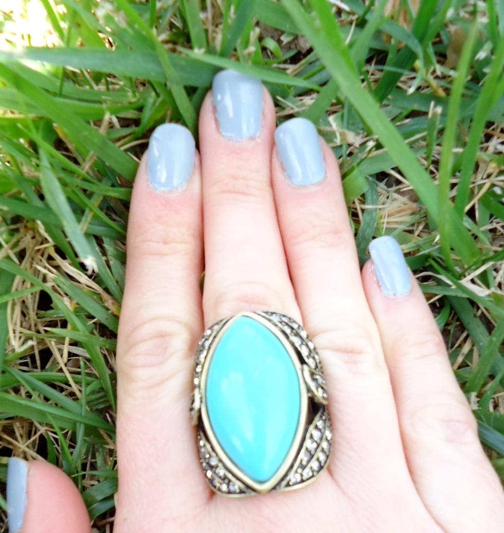 Zoya Kristen and Pretty Stellar Ring
