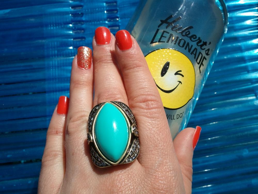 Julep Natasha & Oscar with mark. Pretty Stellar Ring
