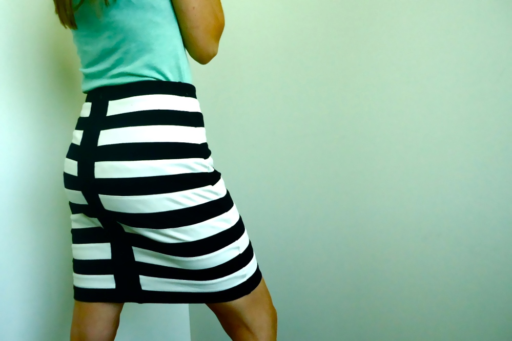 Nautical Stripes and Back Detail