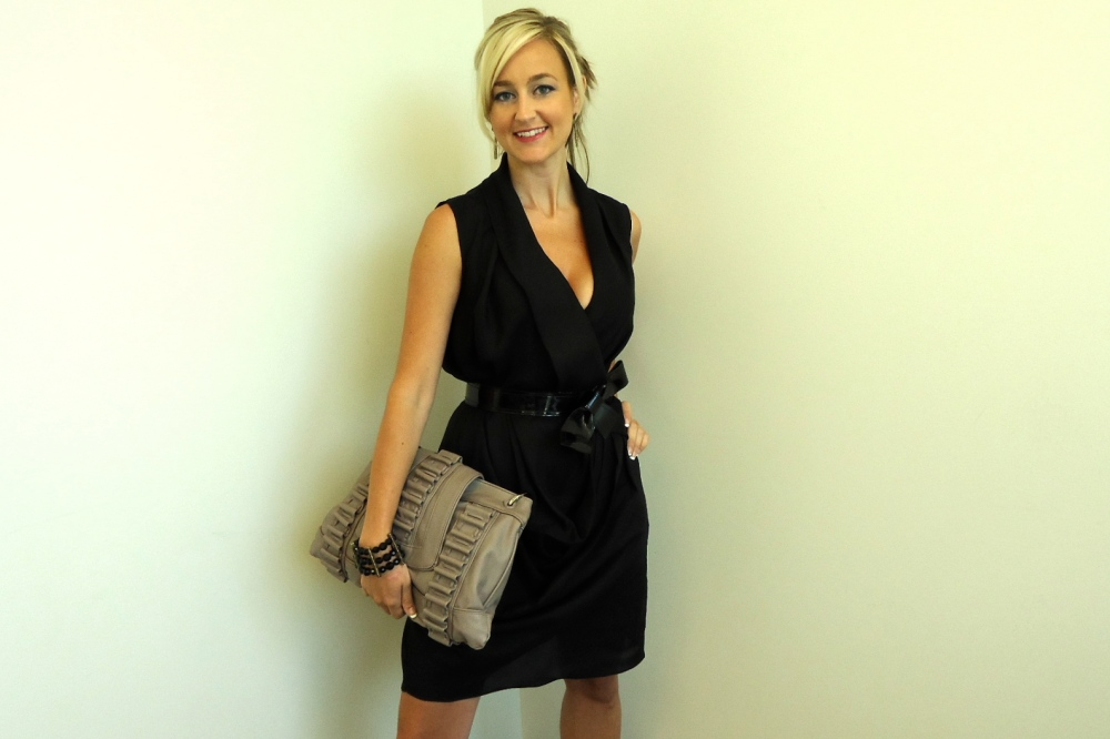 Noir Star Dress Goes Professional