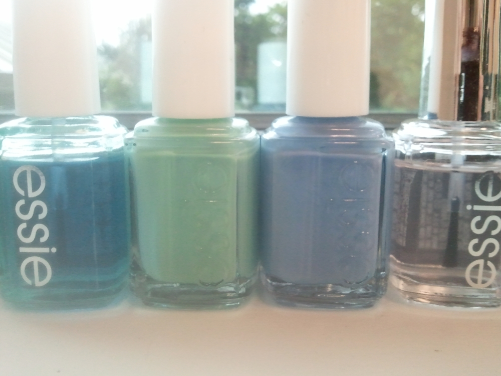 The Lineup:  All In One Base, Turquoise & Caicos, Lapis of Luxury, Good To Go