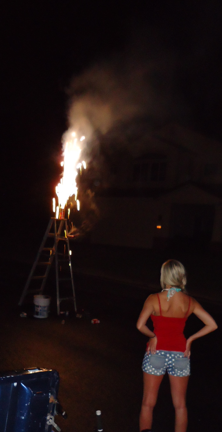 fireworks and 'merica's