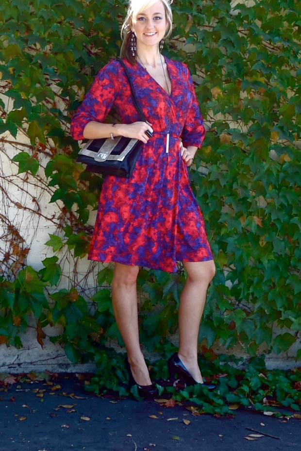 Wrap Dress Full Look