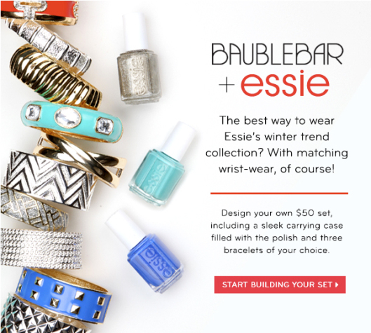 Bauble Bar and Essie