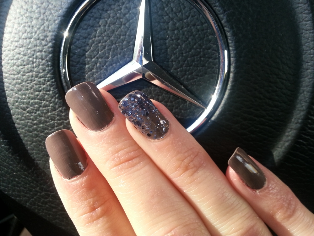 Essie Don't Sweater It and Stroke of Brilliance