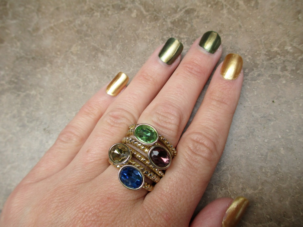 mark. Marrakesh Nailed It and Stack and Style Ring