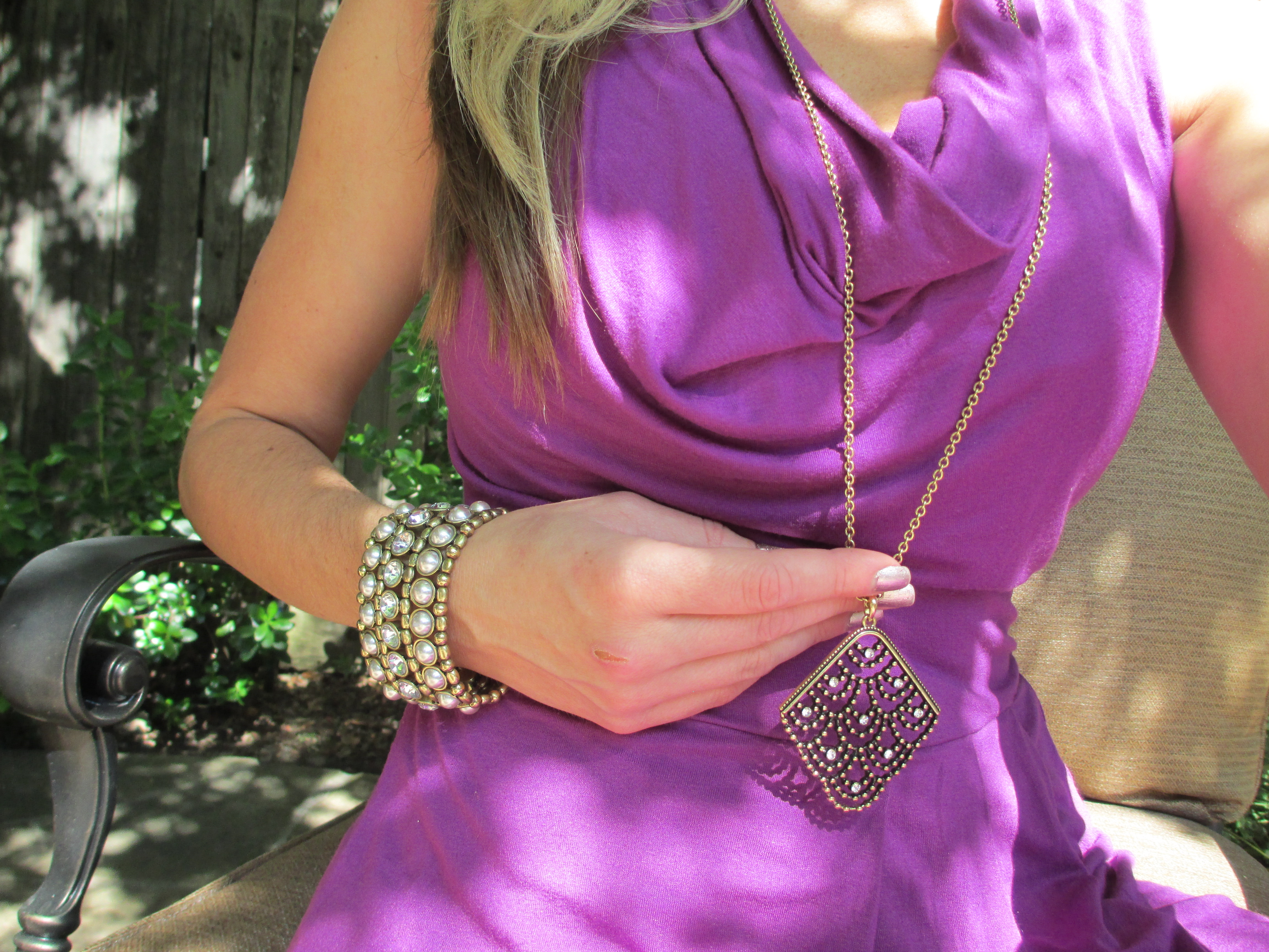 mark. Style and Stones Bracelet with Vintage Feel Necklace