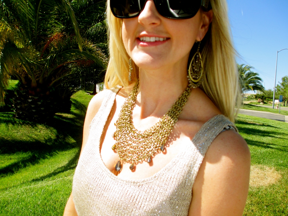 mark. Mesh Together Necklace and Swing By Earrings