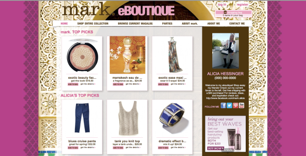 Shop my eBoutique: http://ahessinger.mymarkstore.com