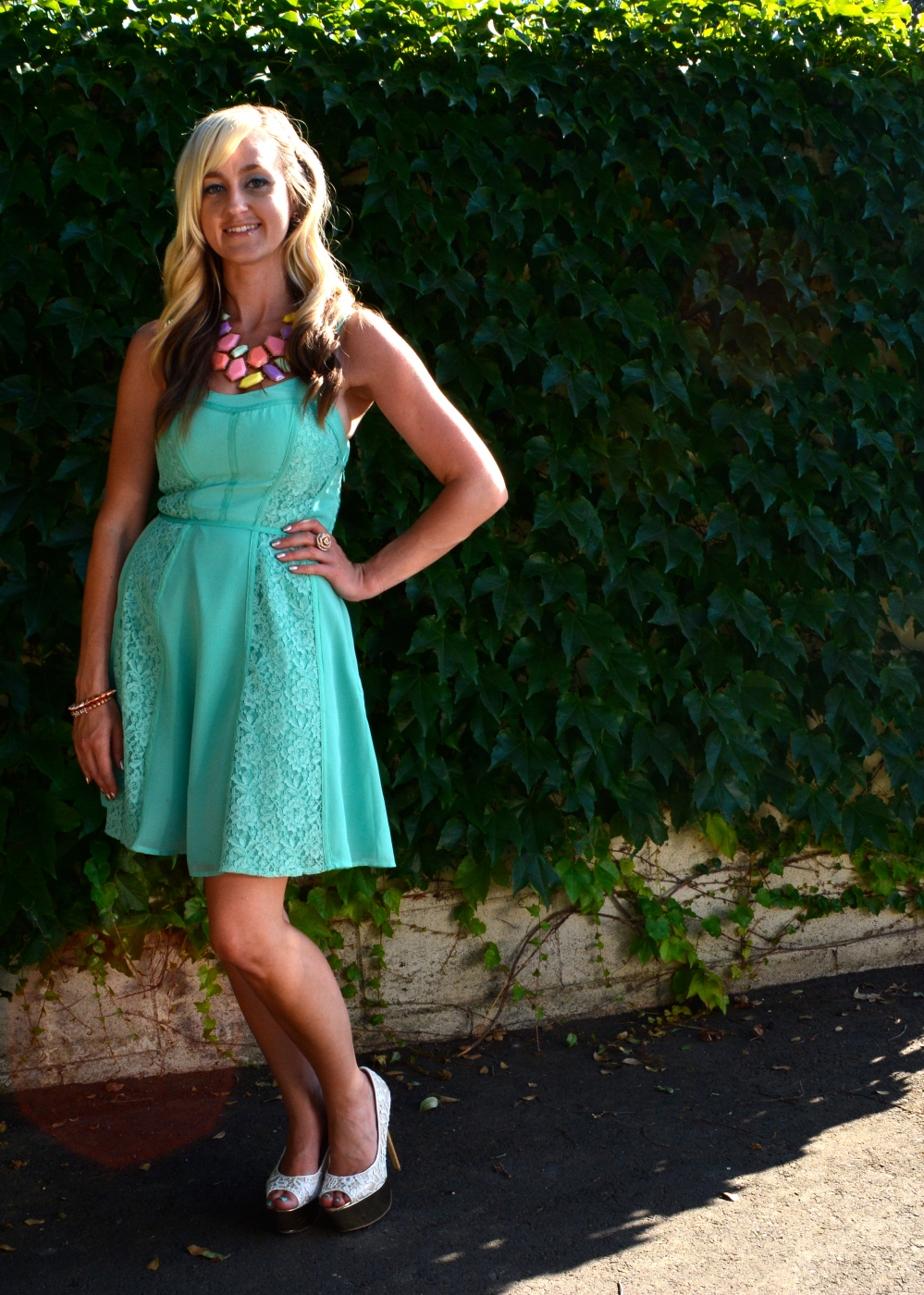 mint and pastels
