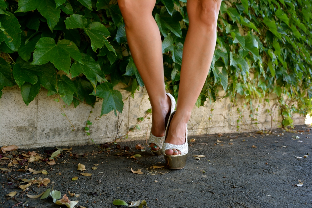 Lace Pumps from Shoedazzle
