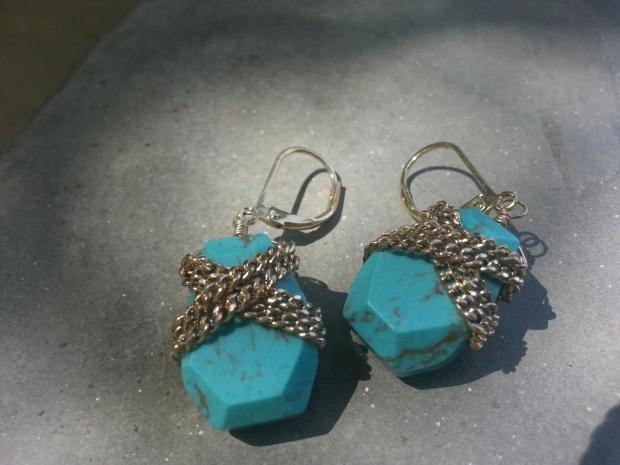 Blue Me In Earrings