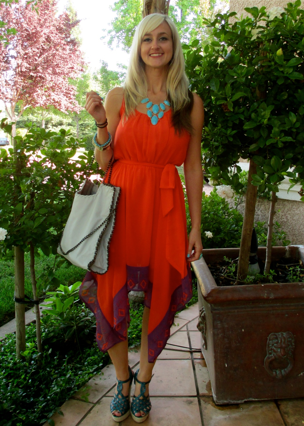 Wearing and Sharing the mark. Shift and Swing Dress