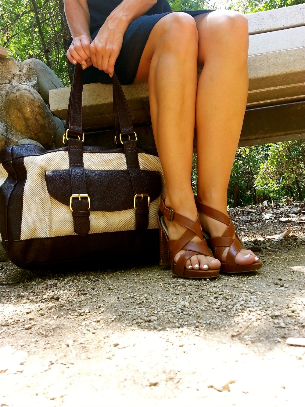 mark. Tote The Town Bag and Tall Order Sandals