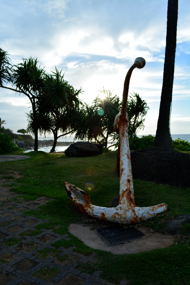 Anchor in Maui