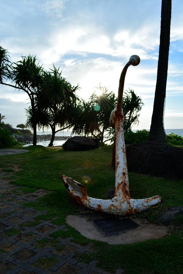 Anchor in Maui