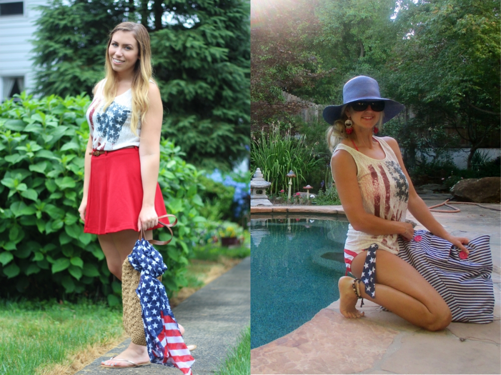 Wear and Share Wednesday - All American Tank