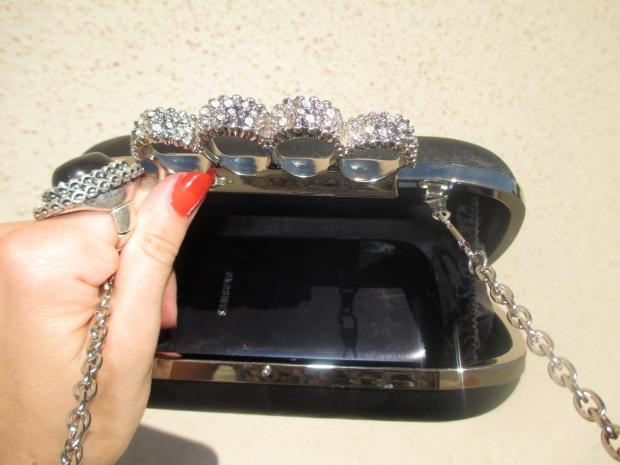 Inside Case Of Glam Clutch