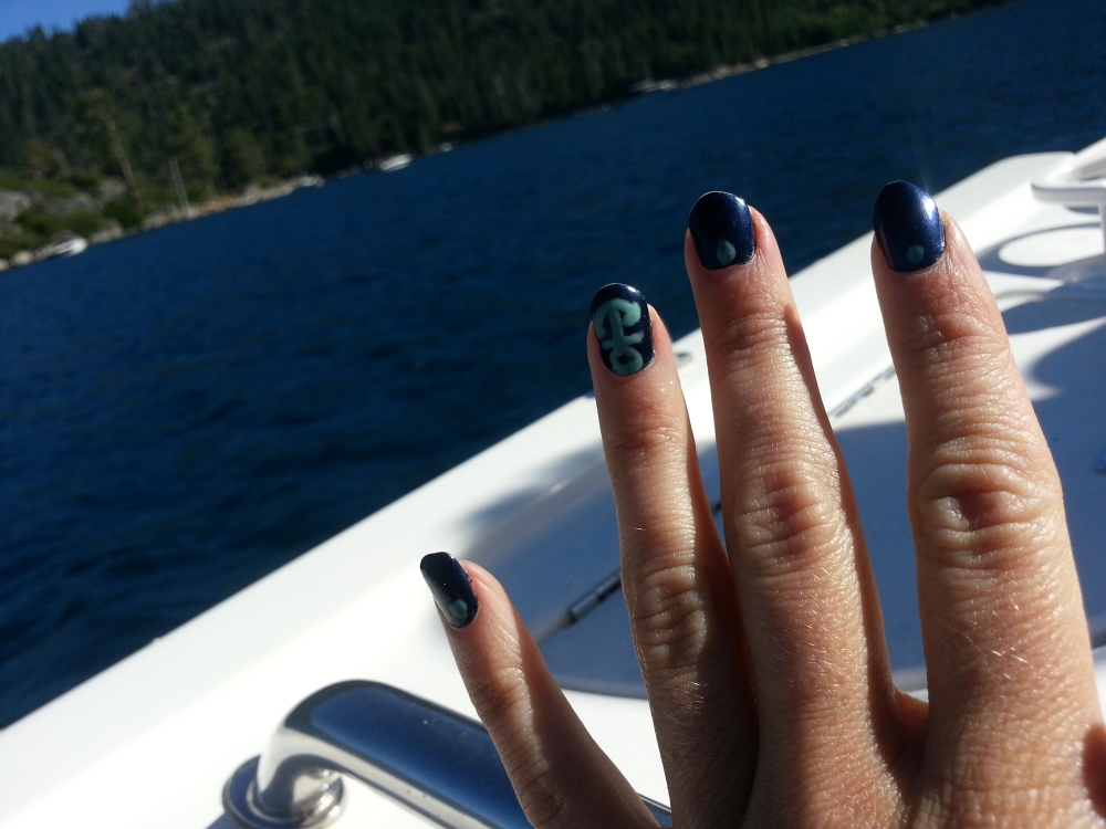 Nautical Nails with Julep's August Maven Box