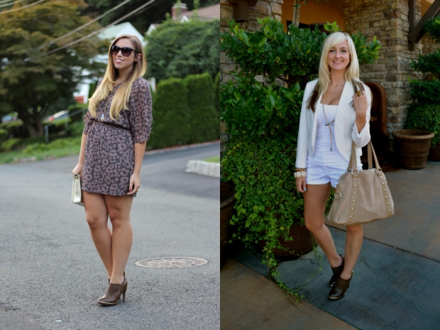 2 Looks Around The mark. Tough Luxe Booties