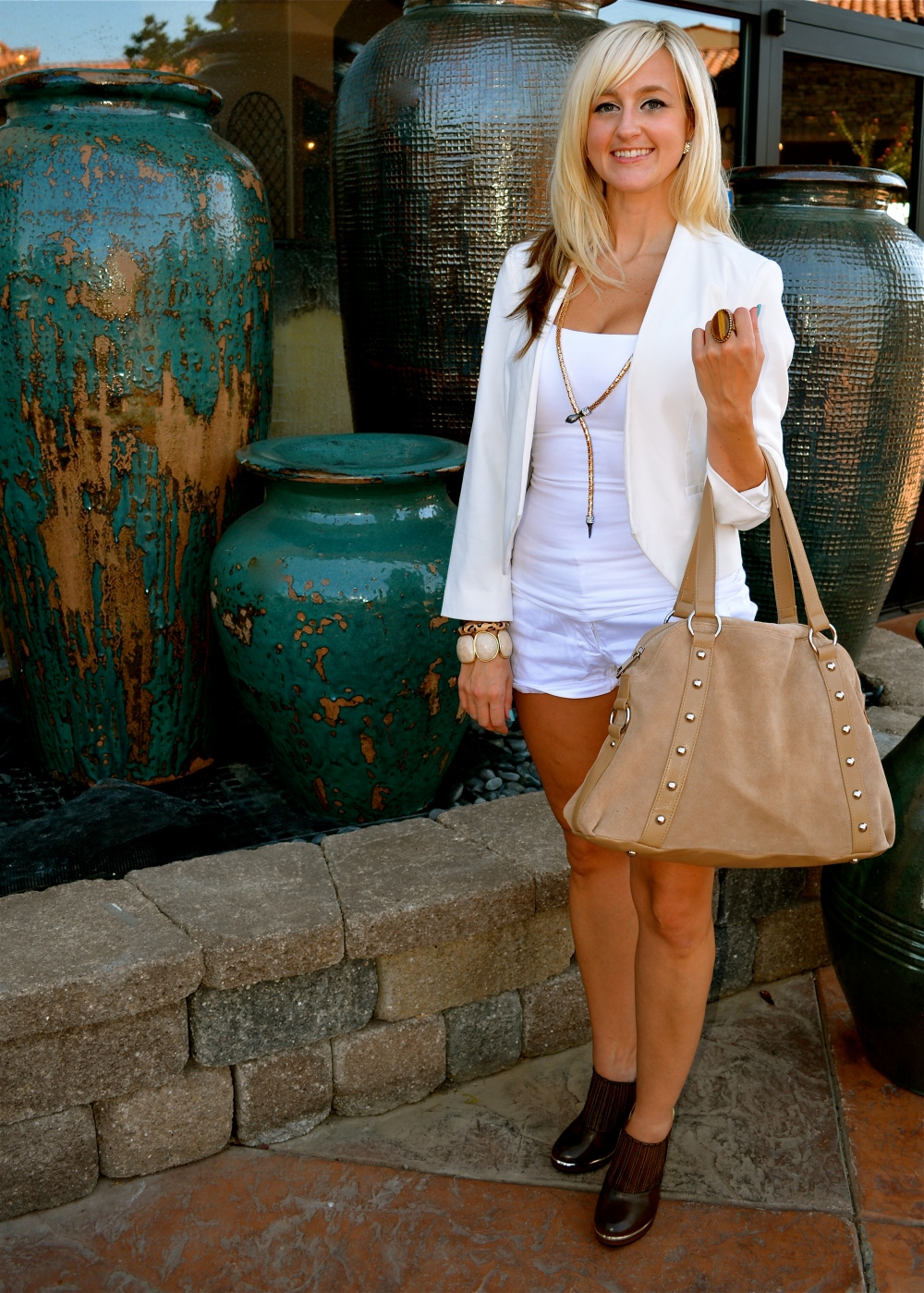 Transitioning Outfit With The Tough Luxe Booties