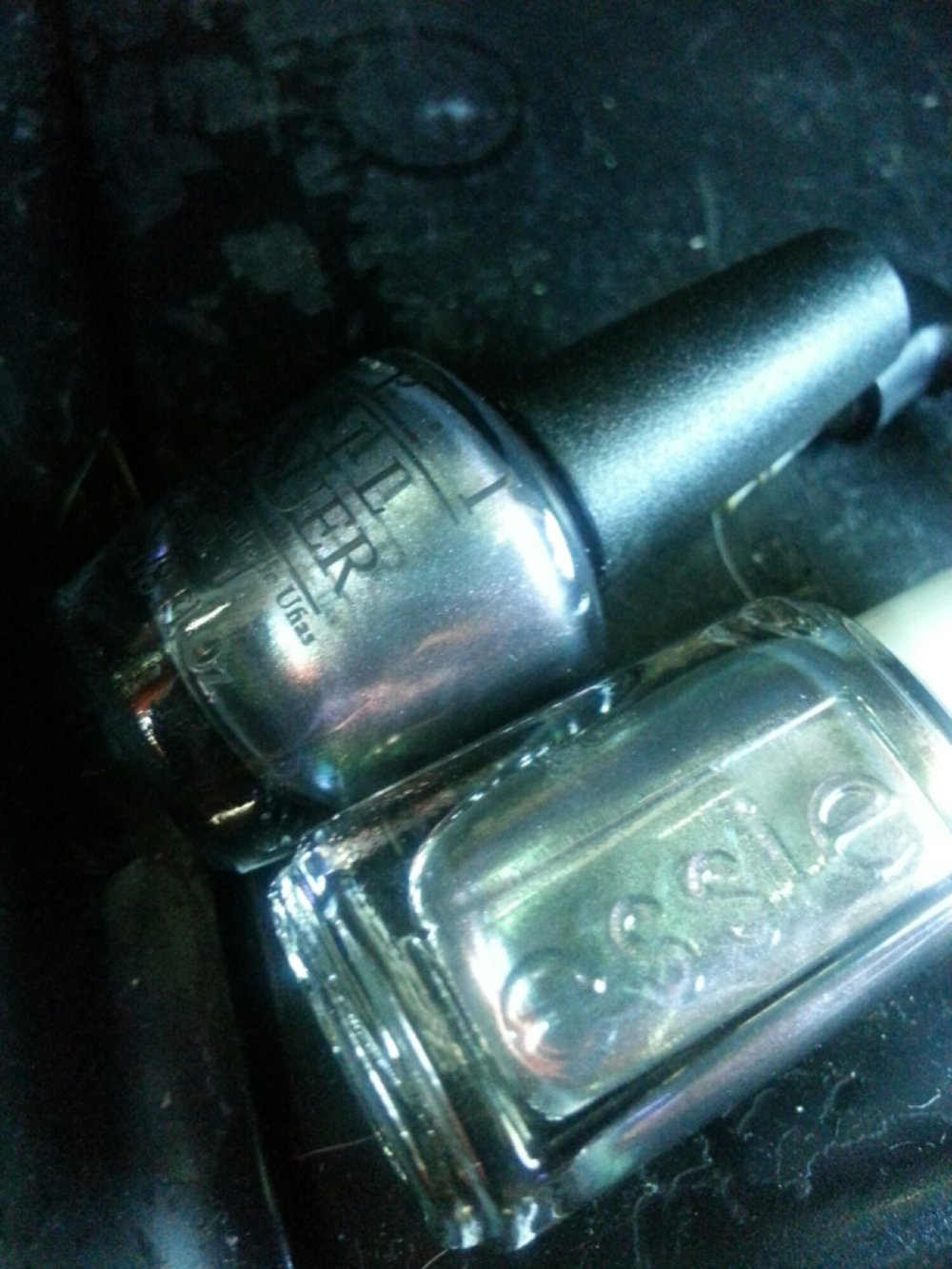 Essie For The Twill Of It vs. OPI Peace & Love & OPI