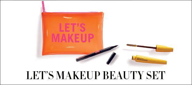 Let's Makeup Beauty Bundle $10 with a $40 order