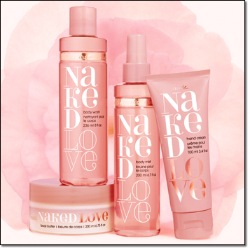 mark. Naked Love Bath and Body Set (exclusive online get the whole set for only $34.99)