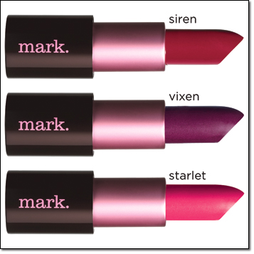 mark. Lipclick in matte shades