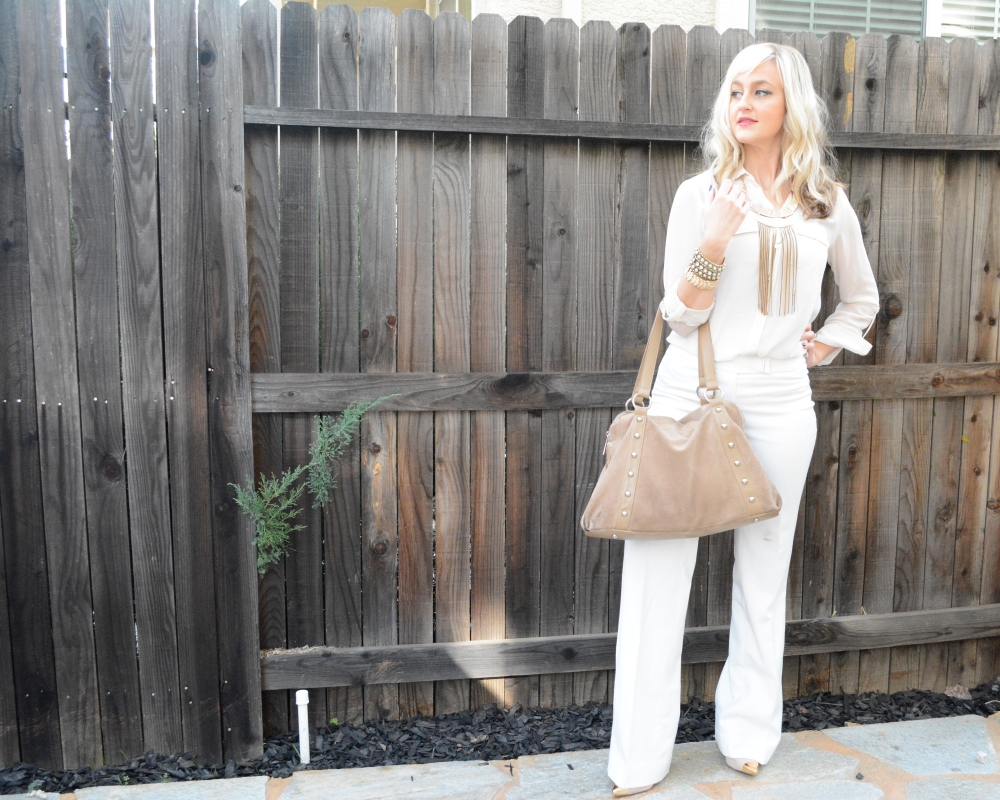 Winter White With The Lady Luxe and Antiqued Chic