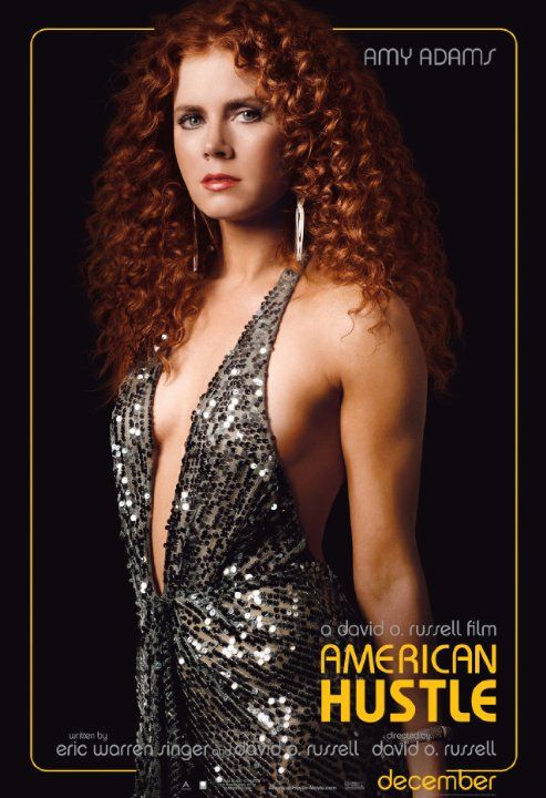 Amy Adams as Sydney In A Glorious Perm