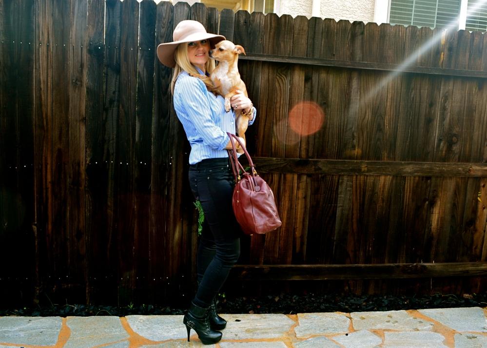 Lucy Hale Inspired Menswear Look