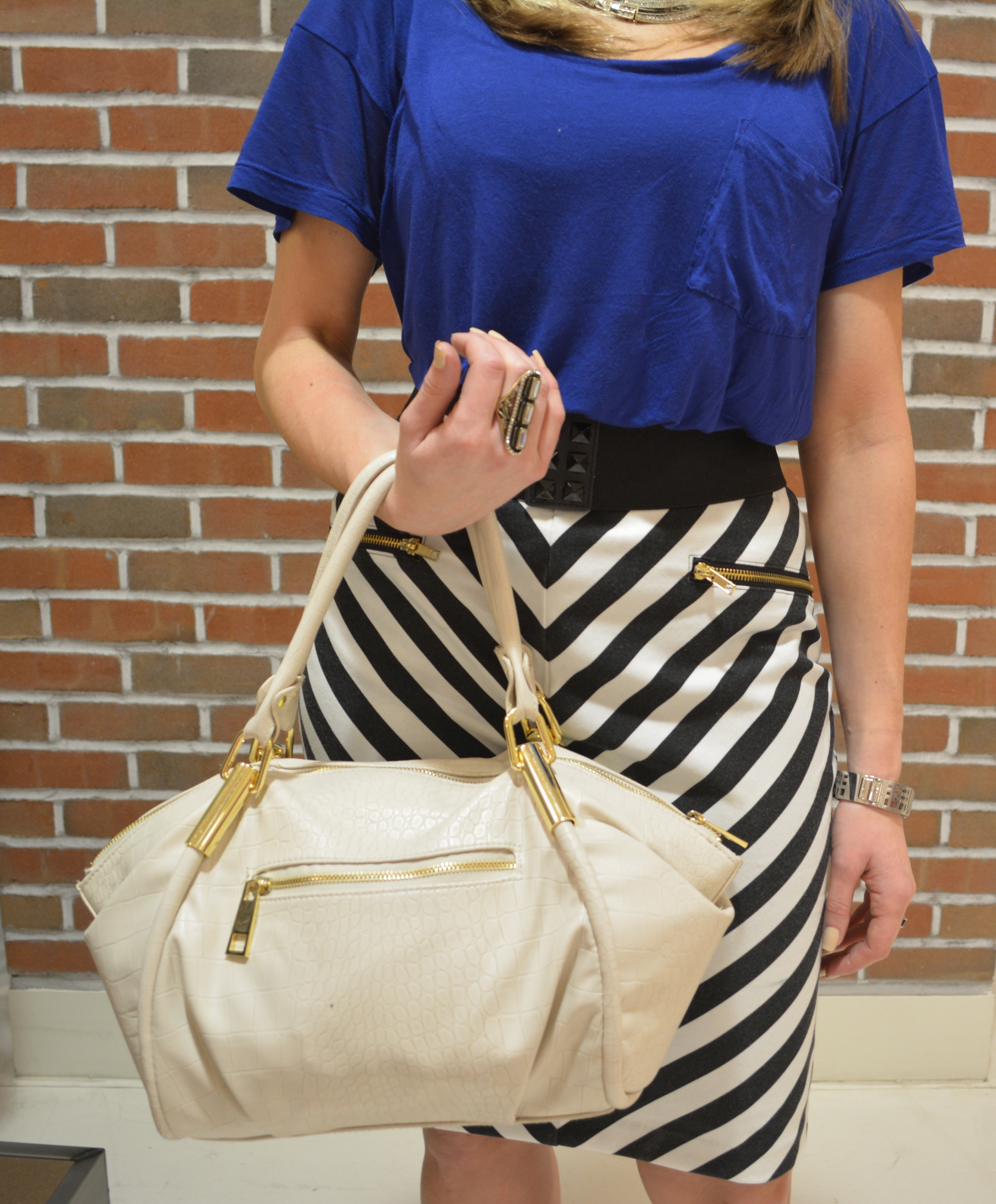 mark. Classic Hit Handbag and Deco Appeal Ring