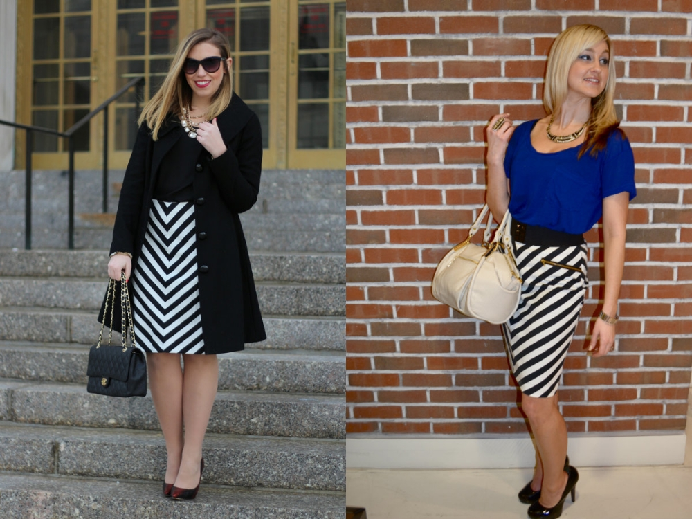 Wear And Share Wednesday with mark. High Contrast Skirt