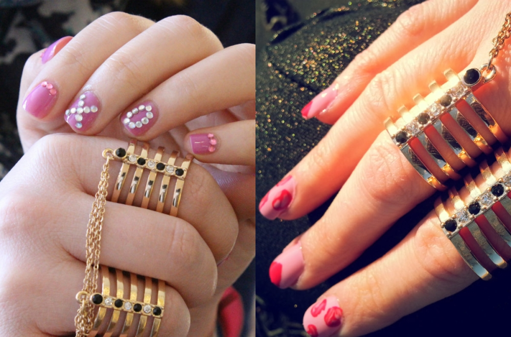 Wear and Share Wednesday - Valentine's Day Manicures