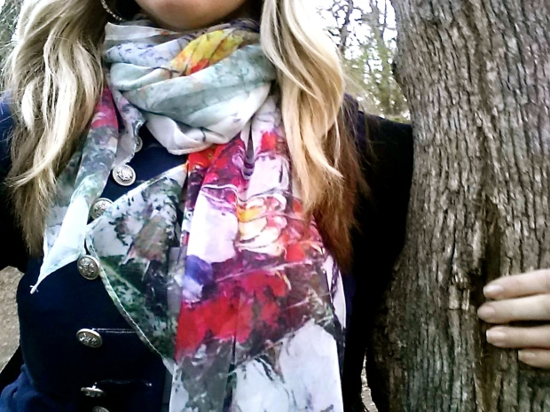 mark. Fawn Over Flora Scarf
