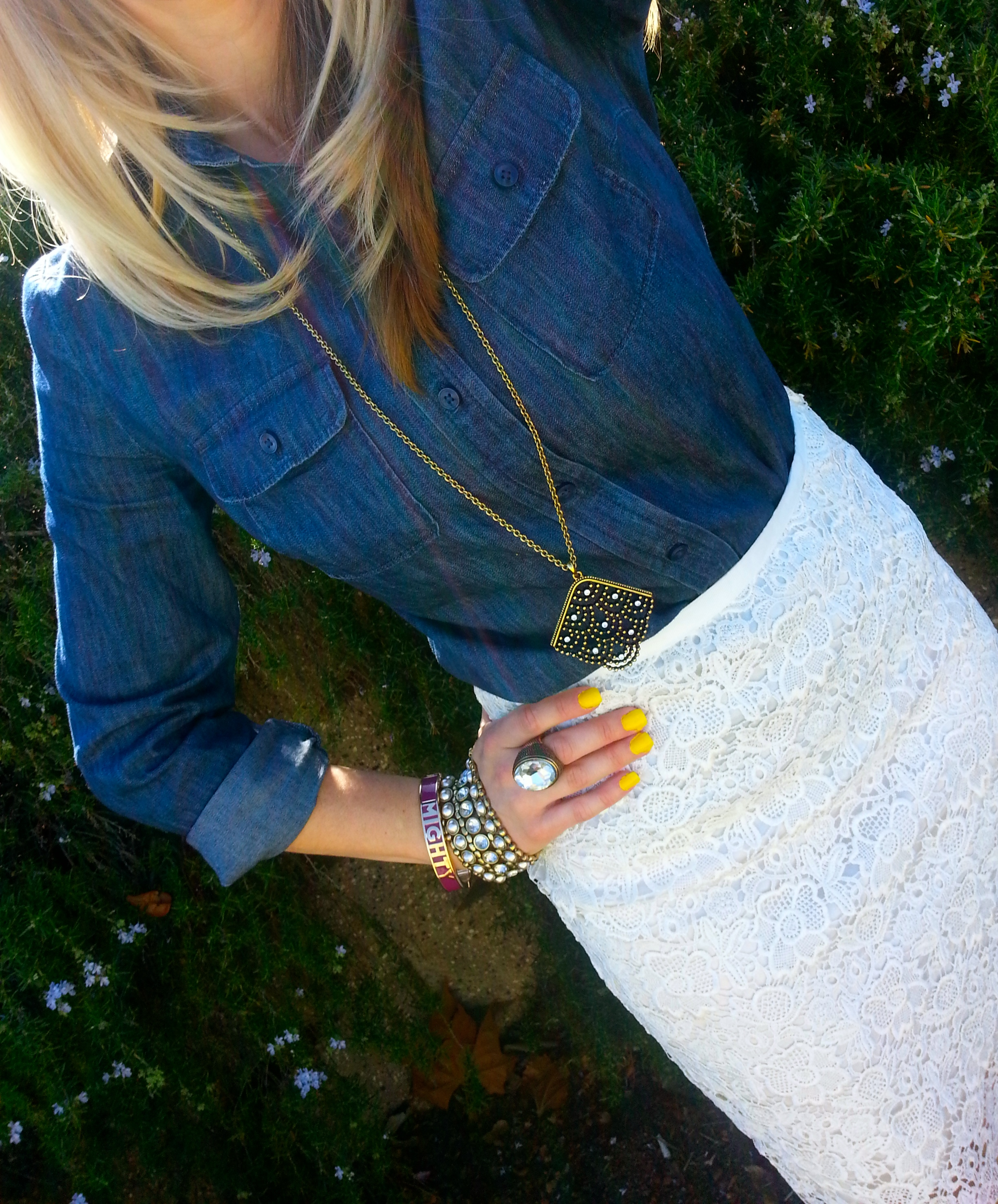 Pop Of Spring Outfit