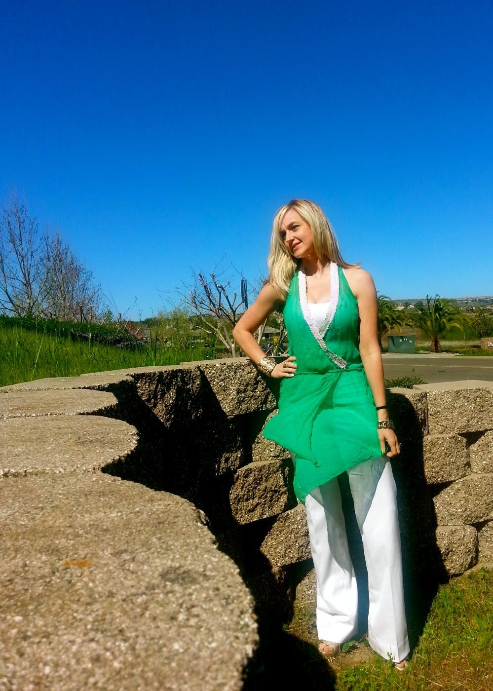St. Patrick's Day Full Look