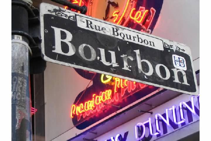 Bourbon Street!   Shout out to Mark!