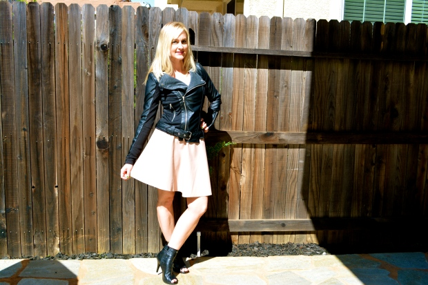 Spring Trend:  Faux Leather for Wear and Share Wed!