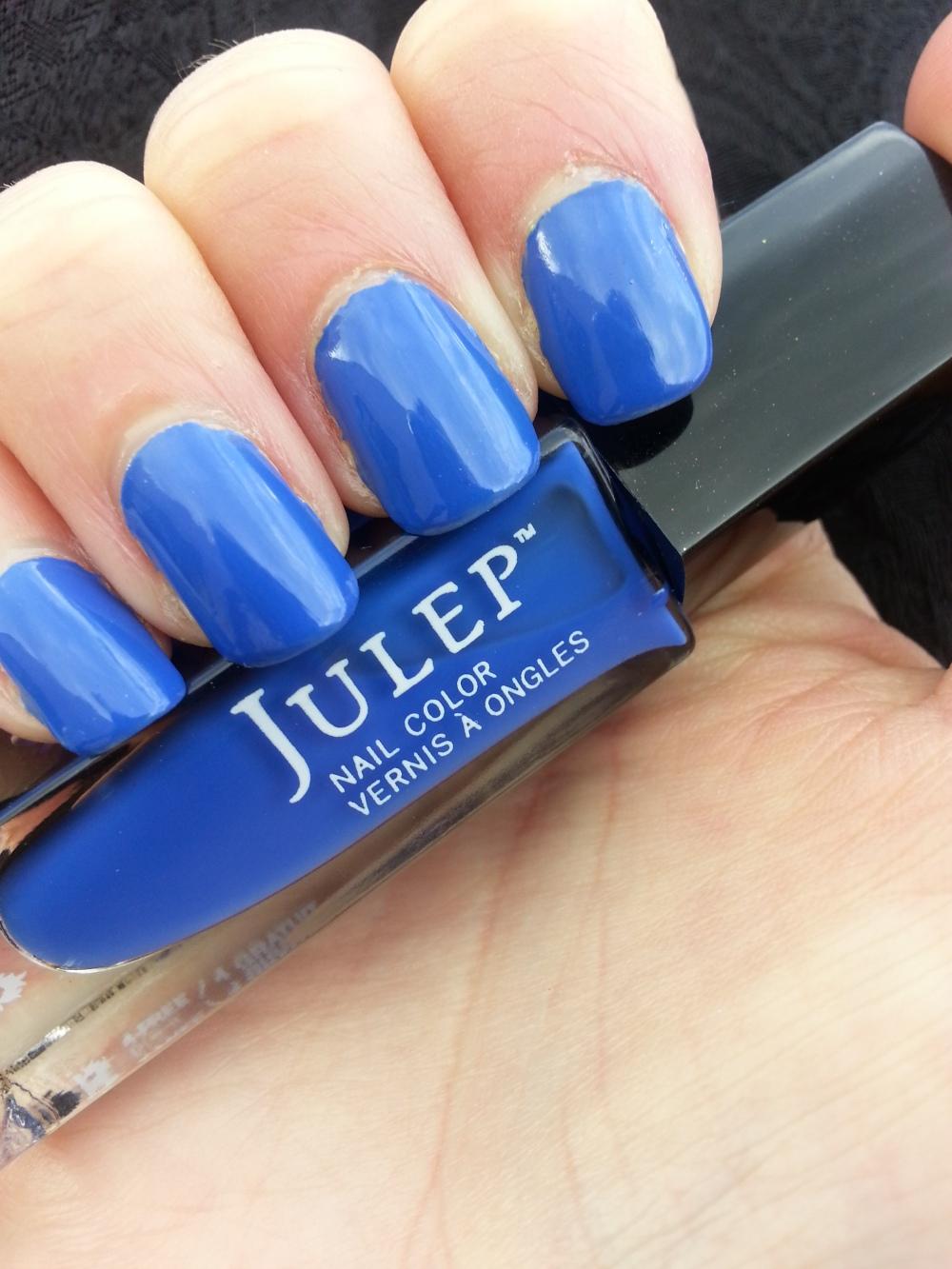 Dazzling Blue with Julep Monaco