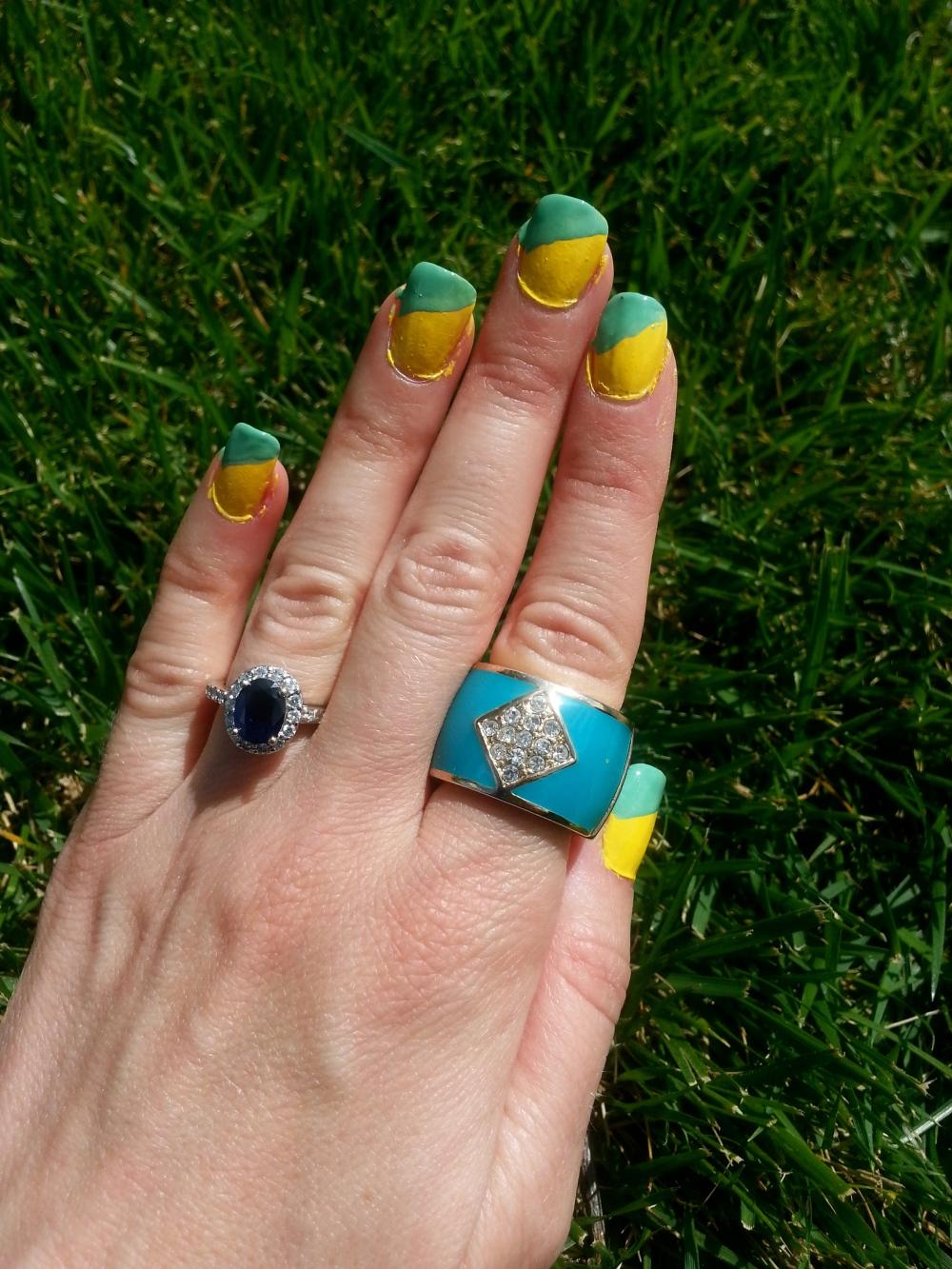 mark. Nail This Look Polish and Ring Set
