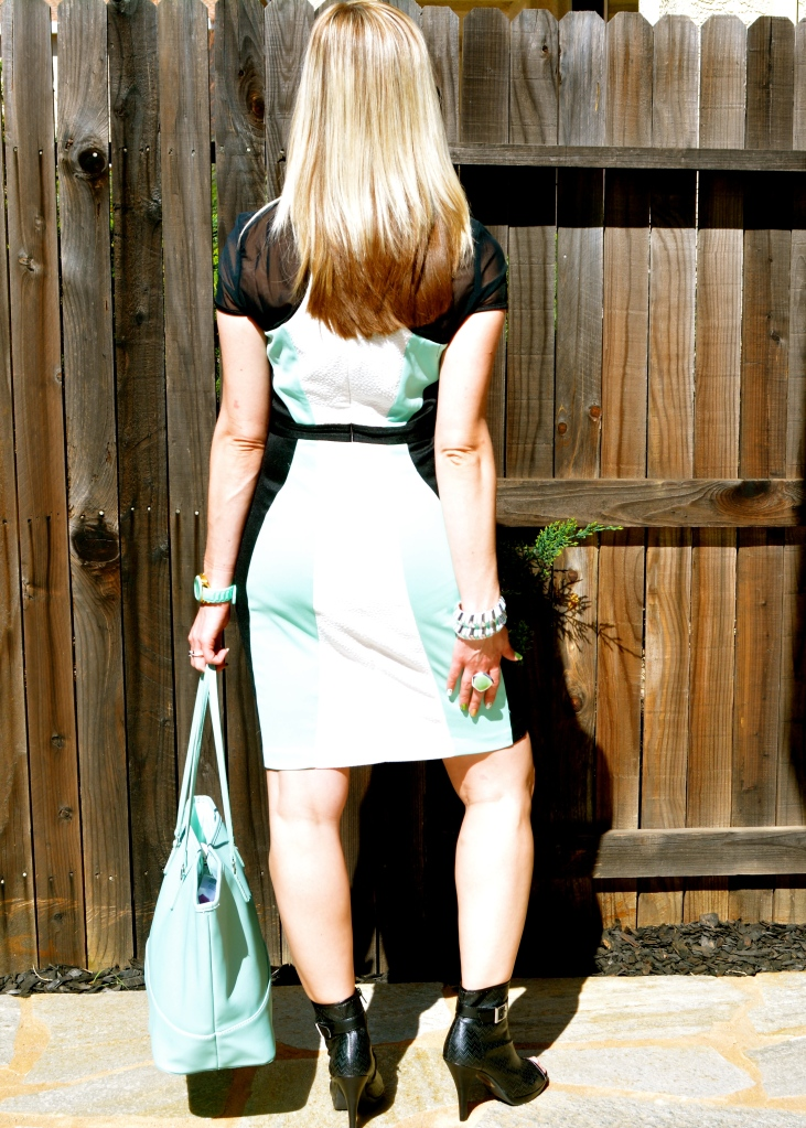 Back Of mark. Major Hit Dress
