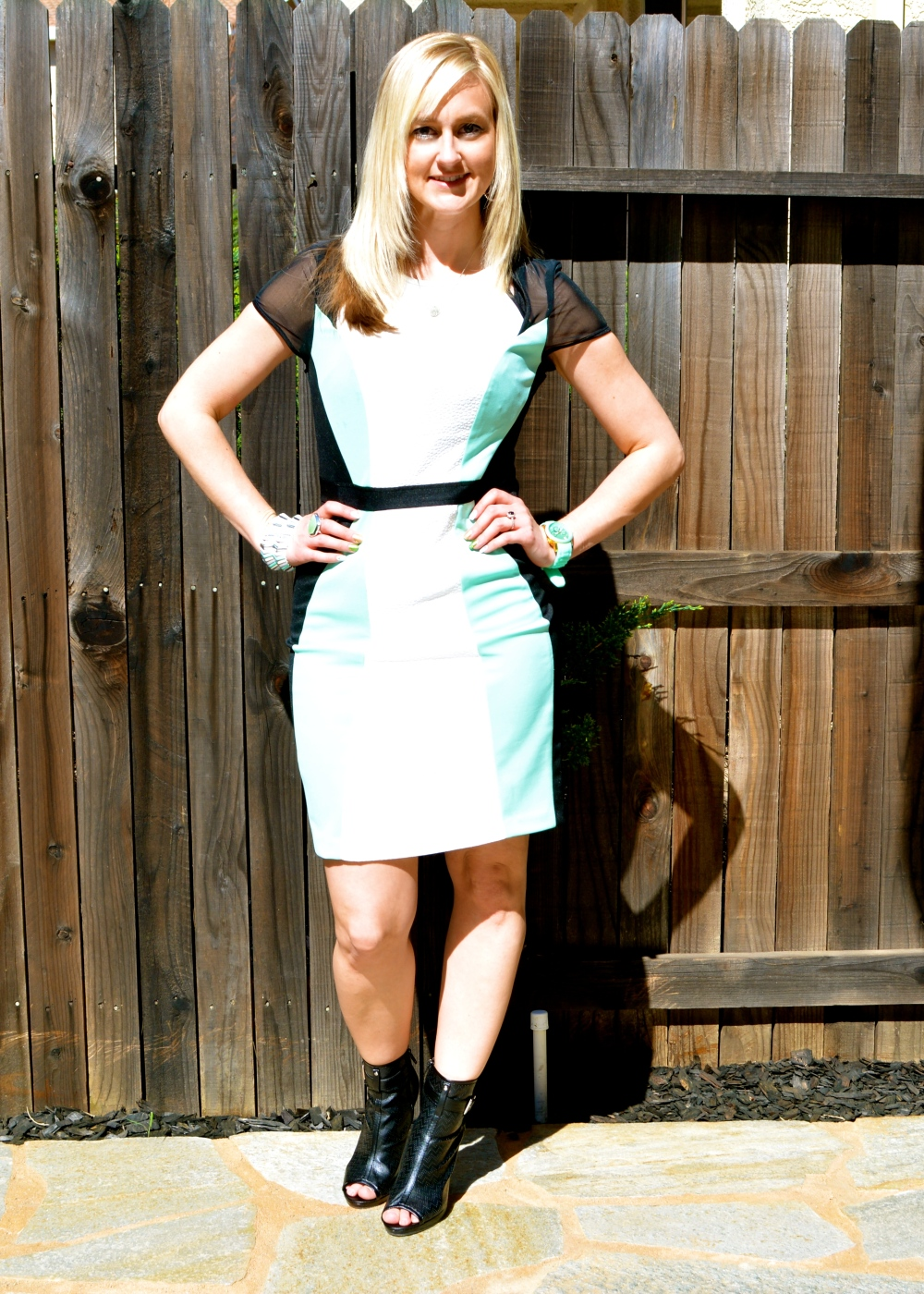mark. Major Hit Dress and Bold Move Booties