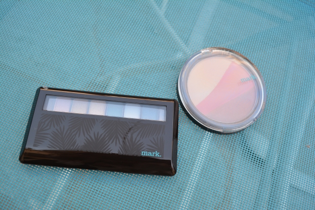 mark. Island Eyes and Island Beauty compact