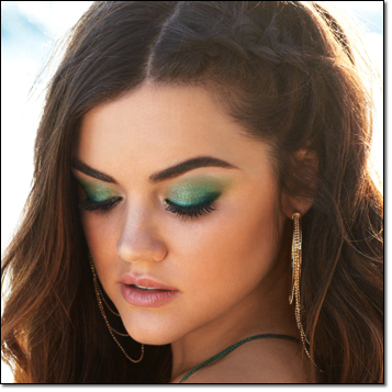 Get Lucy Hale's Clear Blue Sky Look